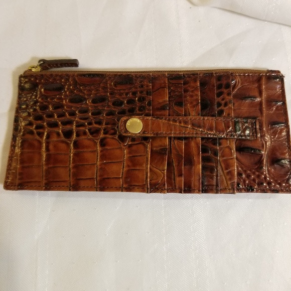 lowest price 106b0 14cae Brahmin Melbourne Leather Wallet Card Case
